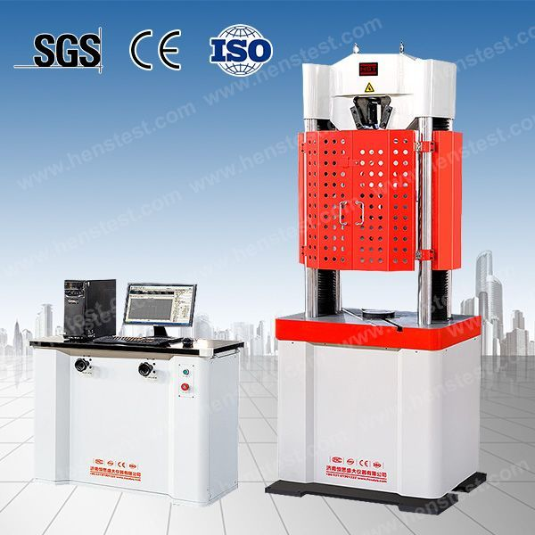 电液伺服钢绞线拉伸强度试验机